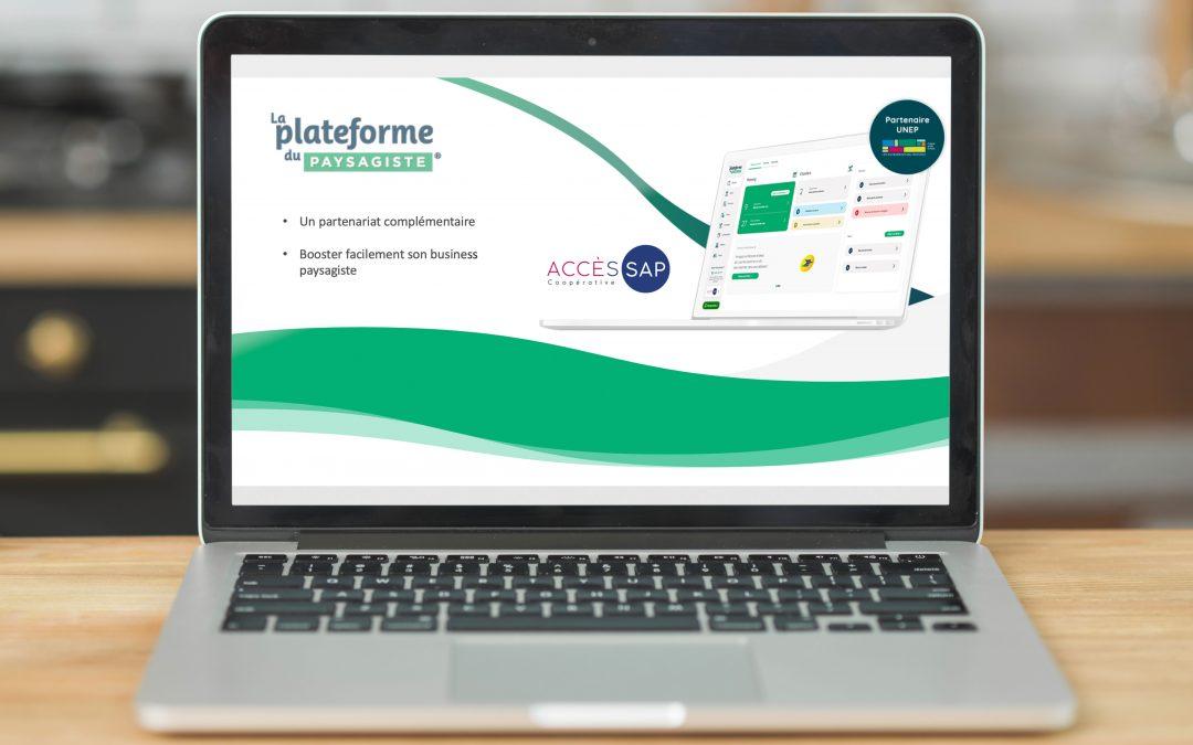 La Plateforme du Paysagiste : nouveau partenaire d'Accès SAP